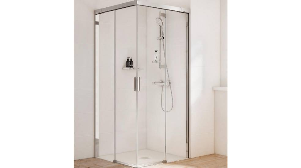 Naray shower screen with sliding doors